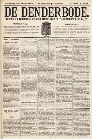 De Denderbode 1886-10-28