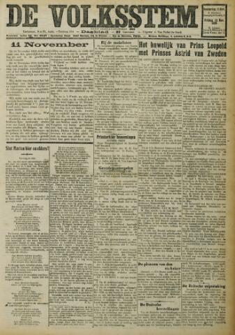 De Volksstem 1926-11-11