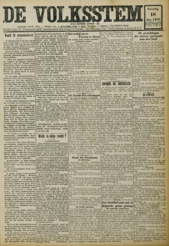 De Volksstem 1930-01-18
