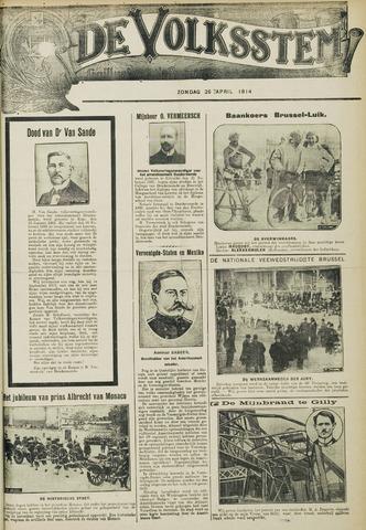 De Volksstem 1914-04-26