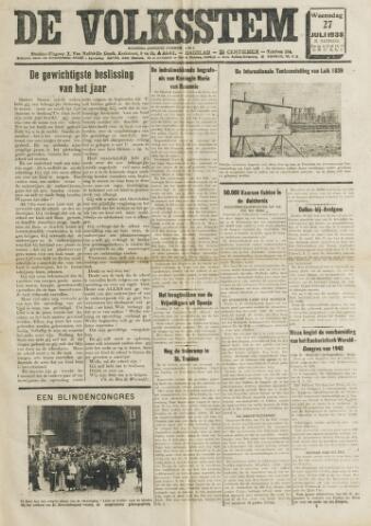 De Volksstem 1938-07-27