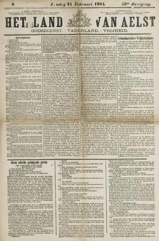 Het Land van Aelst 1884-02-24