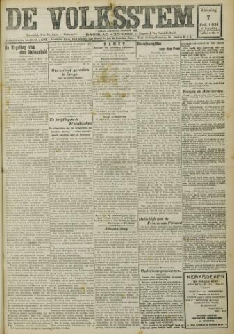 De Volksstem 1931-02-07