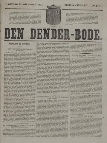 De Denderbode 1851-11-23