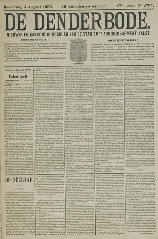 De Denderbode 1893-08-03