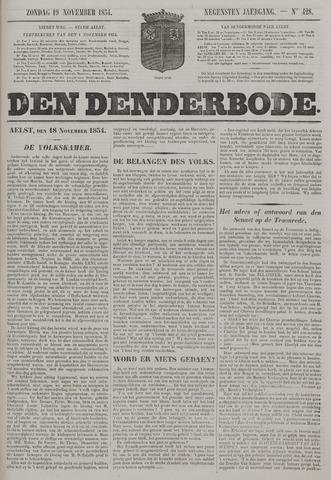 De Denderbode 1854-11-19