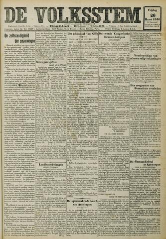 De Volksstem 1926-03-26