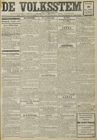 De Volksstem 1930-12-20