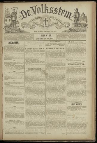 De Volksstem 1895-06-29