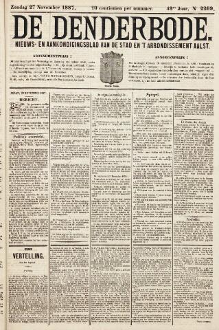 De Denderbode 1887-11-27