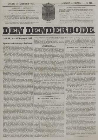 De Denderbode 1853-11-27