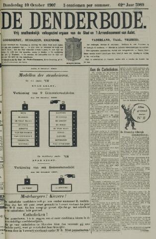 De Denderbode 1907-10-10