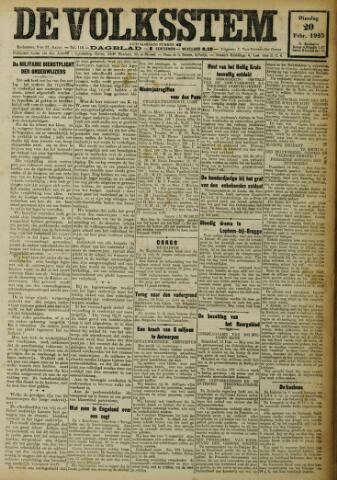 De Volksstem 1923-02-20