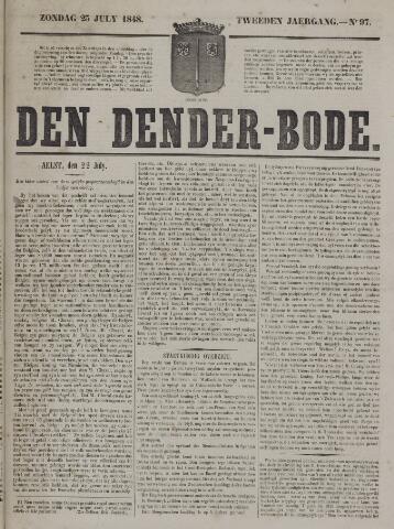 De Denderbode 1848-07-23