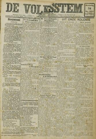De Volksstem 1931-12-31