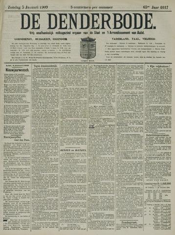 De Denderbode 1909-01-03