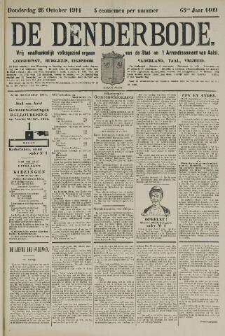 De Denderbode 1911-10-26