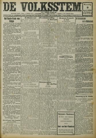 De Volksstem 1930-04-09