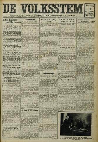 De Volksstem 1932-03-16