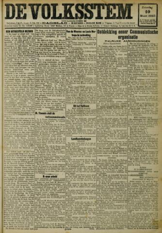 De Volksstem 1923-03-10