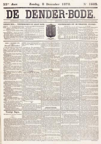 De Denderbode 1878-12-08