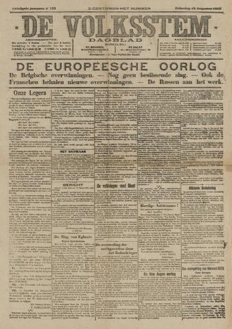 De Volksstem 1914-08-15
