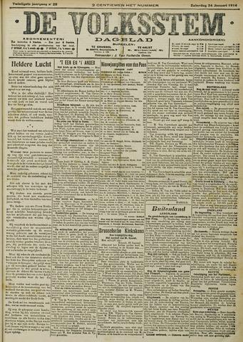 De Volksstem 1914-01-24