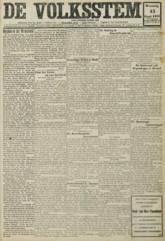 De Volksstem 1930-08-13