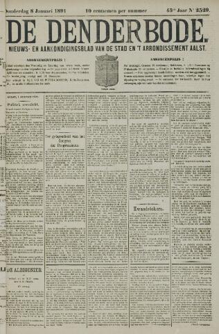 De Denderbode 1891-01-08