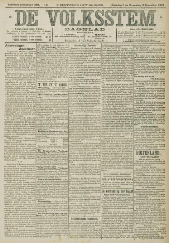 De Volksstem 1910-11-01