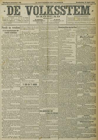 De Volksstem 1914-04-16