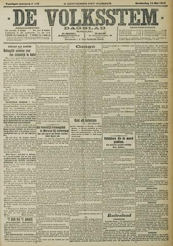 De Volksstem 1914-05-14