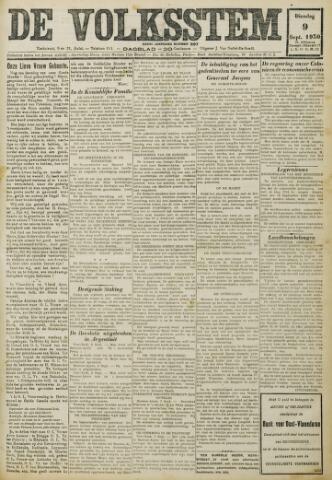 De Volksstem 1930-09-09