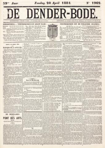 De Denderbode 1884-04-20
