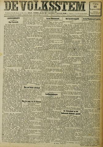 De Volksstem 1923-09-21