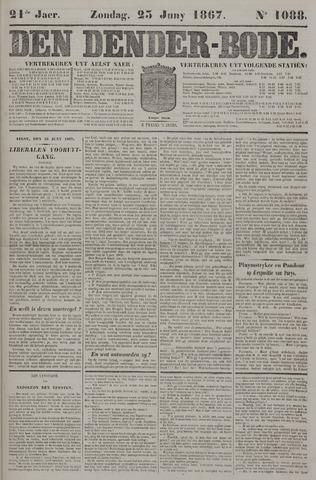 De Denderbode 1867-06-23