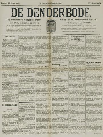 De Denderbode 1912-04-28