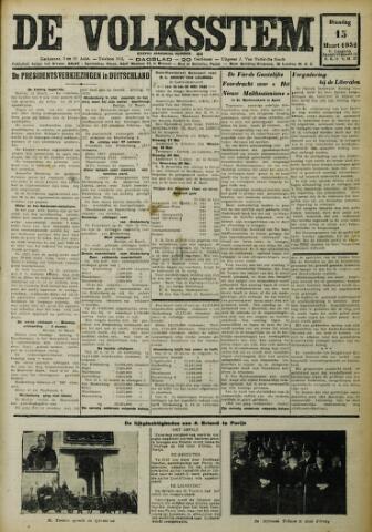 De Volksstem 1932-03-15
