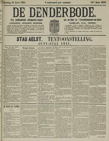 De Denderbode 1911-06-11