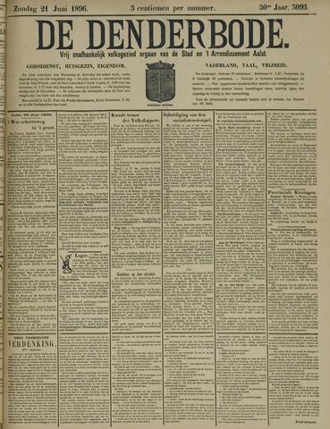 De Denderbode 1896-06-21