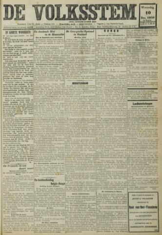 De Volksstem 1930-12-10