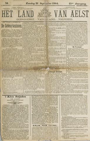 Het Land van Aelst 1884-09-21