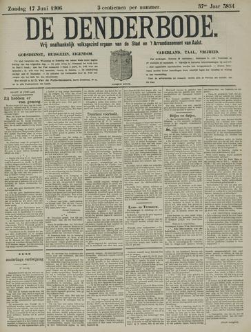 De Denderbode 1906-06-17
