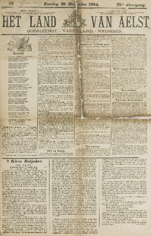 Het Land van Aelst 1884-12-28