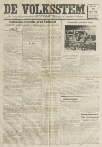 De Volksstem 1938-01-29