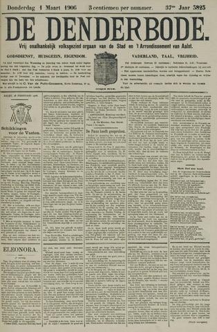 De Denderbode 1906-03-01