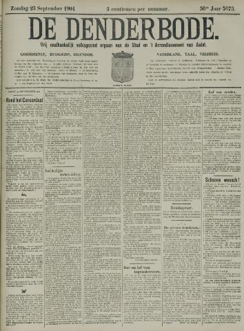 De Denderbode 1904-09-25