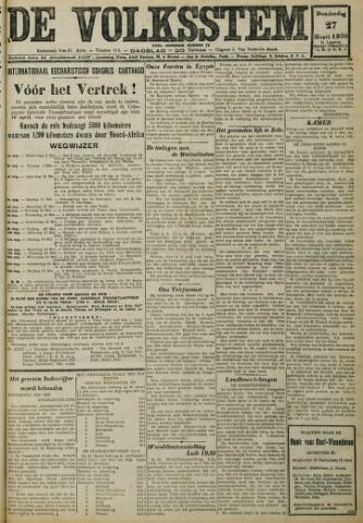 De Volksstem 1930-03-27