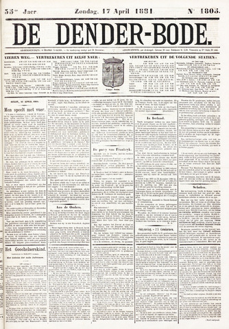 De Denderbode 1881-04-17