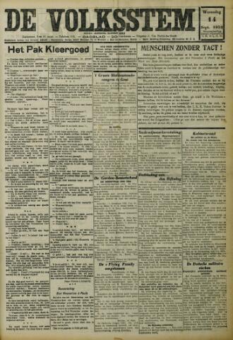 De Volksstem 1932-09-14